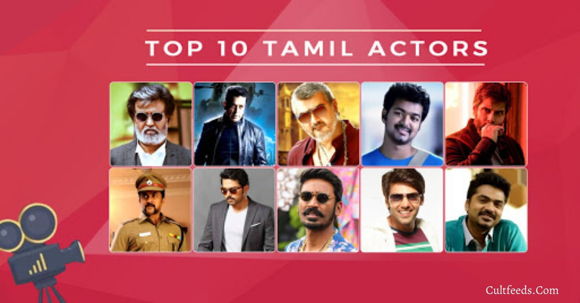 Top 10 Tamil Actors