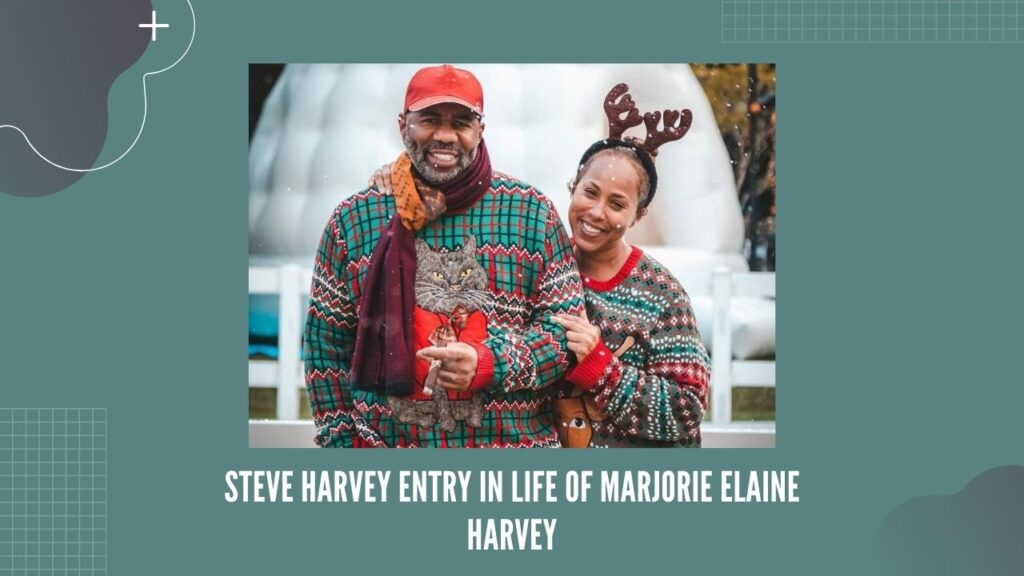 Steve Harvey Marjorie Elaine Harvey
